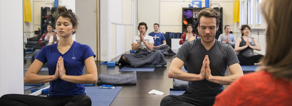 Yoga classes in the Melbourne CBD at Mind Over Muscle